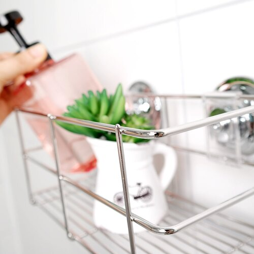 shower shelf storage basket