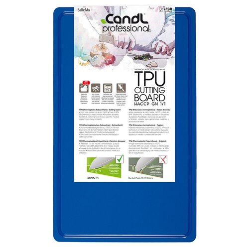 CandL Professional Cutting Board Blue (GN1 Serie)